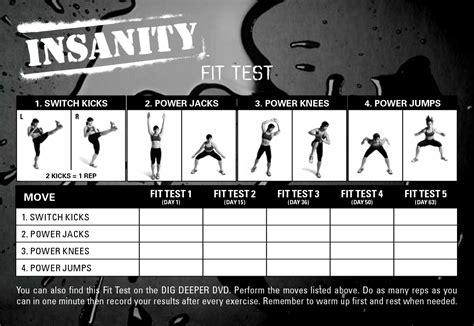Galerry printable blank workout calendar
