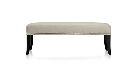 colette bench colette bench natural crate and barrel