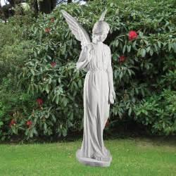 Garden Statues And Figurines Figurine 183cm Religious Sculpture Marble Garden