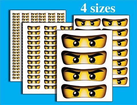 Ninjago Aufkleber Mit Namen by Die 25 Besten Ideen Zu Ninjago Augen Auf Lego