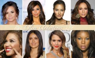 hair colors for yellow undertones perle jewellery and makeup what colour is your skin