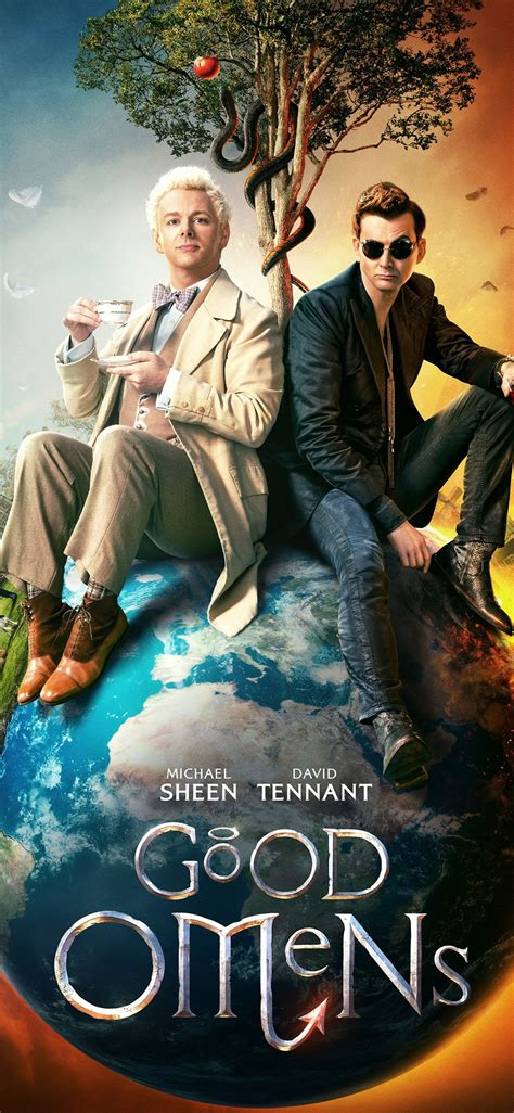 wallpaper good omens  hd picture image