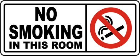 In This Room by No In This Room Sign By Safetysign R5444