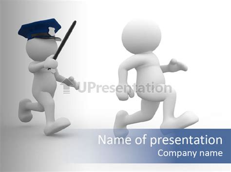 free enforcement powerpoint templates powerpoint template serious object