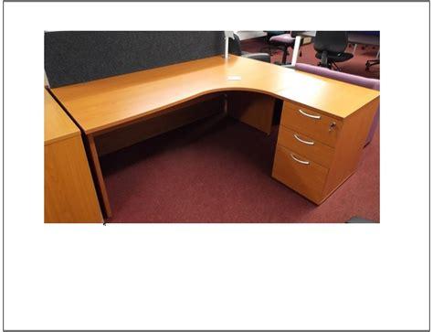 cherry corner desk cherry corner desk and ped blandford office furniture