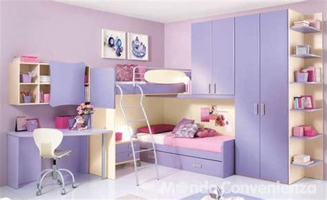 diseno de dormitorios  ninas en color lila