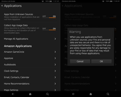 install android apps  kindle fire