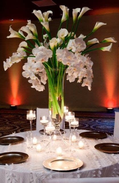 wedding centerpieces with calla lilies 25 best ideas about calla centerpieces on centerpieces orange wedding