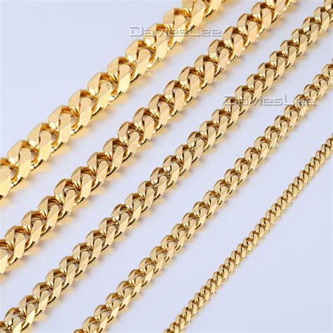 cadenas cubanas stainless steel cadena cubana compra lotes baratos de cadena cubana de