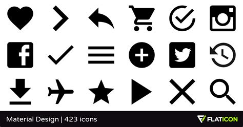 material design instagram icon material design 420 free icons svg eps psd png files