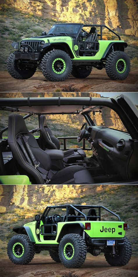 jeep hellcat offroad take the hellcat s 707hp v8 drop it in an off road