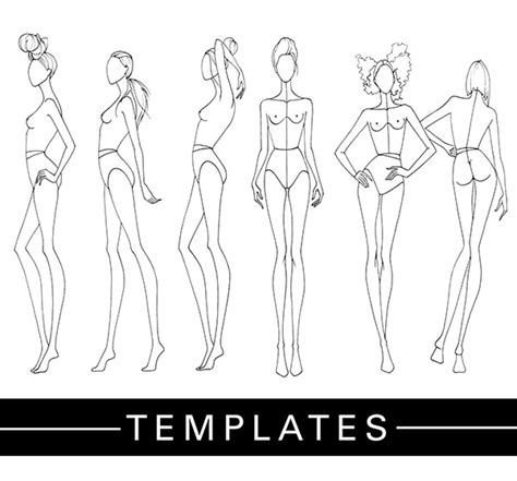 drawing templates templates fashion finishing school
