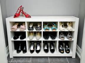 ikea shoe storage ikea hack how to build a shoe rack from an ikea expedit