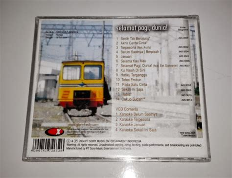 Kaset Glenn Fredly Album Selamat Pagi Dunia cd glenn fredly selamat pagi dunia musikupedia