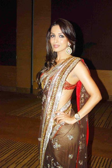 Hindie Blouse Hijao 55k here view malaika arora khan in saree blouses designs get malaika arora in designer sarees get
