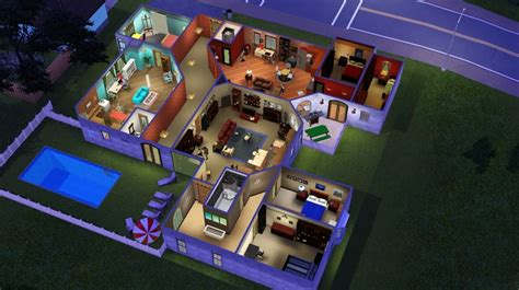 the big theory haus the quot big theory quot house in sims 3 adorkable