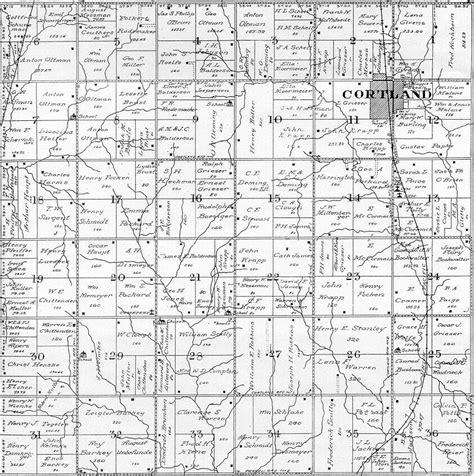 plat maps 1922 gage co ne atlas plat map