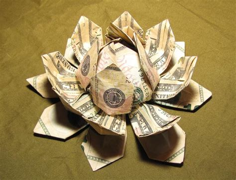 how to make money origami flower money origami