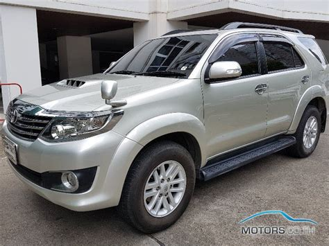 toyota fortuner 2013 toyota fortuner 2013 motors co th
