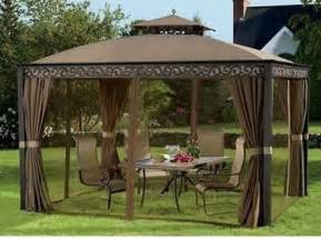 Gazebo Net Outdoor Gazebo With Mosquito Netting And Privacy Panels