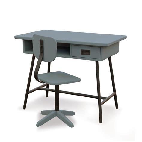 le de bureau 馥 50 bureau la classe et chaise d atelier gris souris