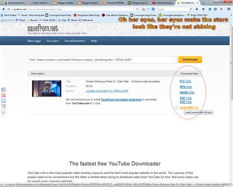 download youtube selain savefrom pustaka iptekkes cara download video youtube