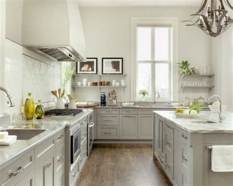 Light Grey Kitchen Cabinet Houzz Light Gray Kitchen