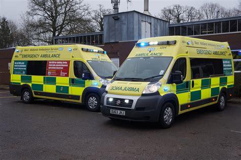 Lu Led Ambulance february 4 2015 west midlands ambulance service nhs foundation trust