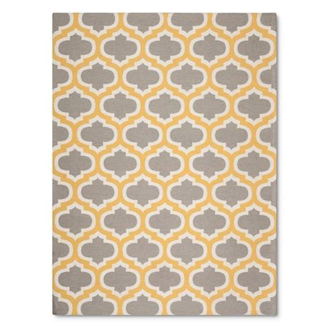 Fretwork Rug by Threshold Indoor Outdoor Flatweave Fretwork Rug Ebay