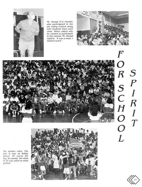 The 1987 Fledgling Yearbook - Activities: Pages 105 to 117