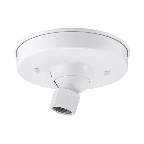 Ceiling Light Canopy Parts Shop Millennium Lighting 5 5 In White Hanging Light Canopy At Lowes
