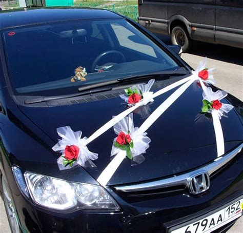 Car Decor by Wedding Car Decor Wedding Decor Ideas