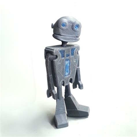 jointed doll robot free 3d file jointed robot la poste