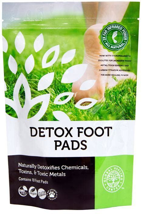 Magic Foot Detox Reviews by Dr S Detox Foot Pads Health Ranger Store