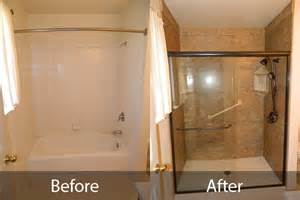 Shower After Bath Bathroom Before And After Gallery Northern California