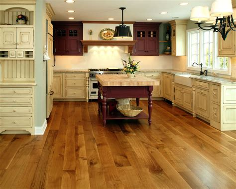 Hardwood Kitchen Floor by Current Trends In Hardwood Flooring