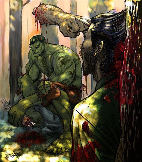 imagenes de hulk vs wolverine en real hulk v wolverine pics