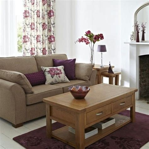 purple and brown living room pinterest