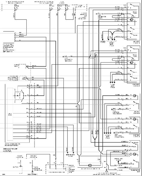 central door lock wiring diagram get free image about