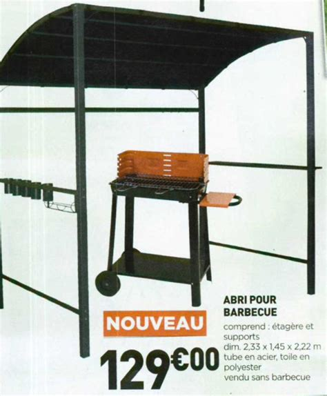 Toit Pour Barbecue by Abri Barbecue