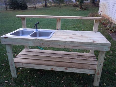potting bench plans with sink everything in between by kelly tiffany potting bench
