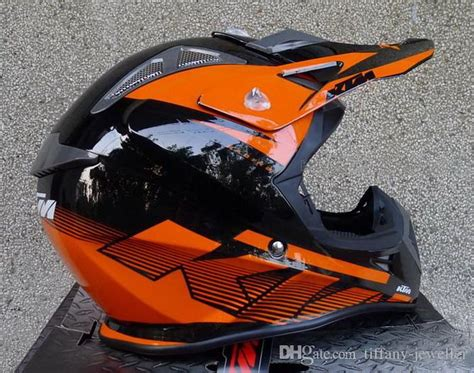 Helm Kyt Cross Verboden Black Orange 2015 new ktm cross country motorcycle helmet road