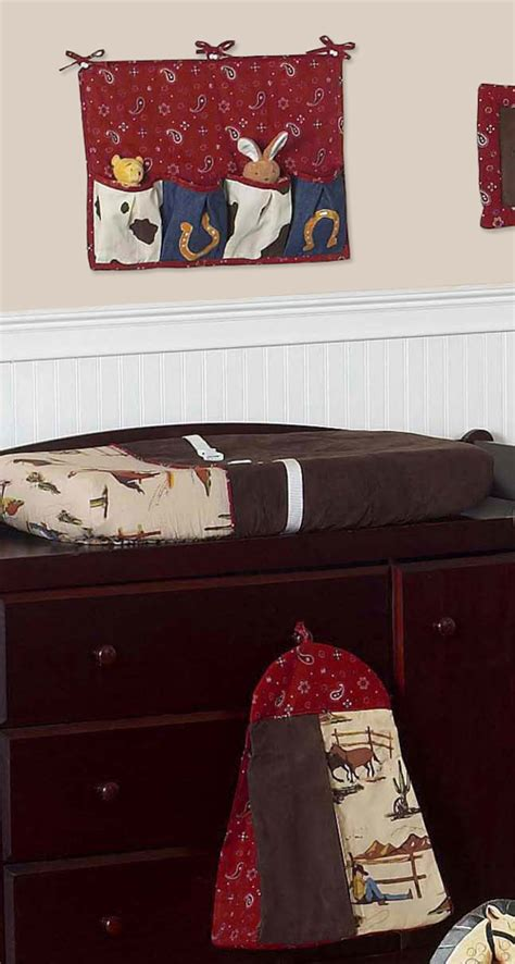 Bumperless Unique Designer Horse Western Themed Cowboy Cowboy Themed Crib Bedding