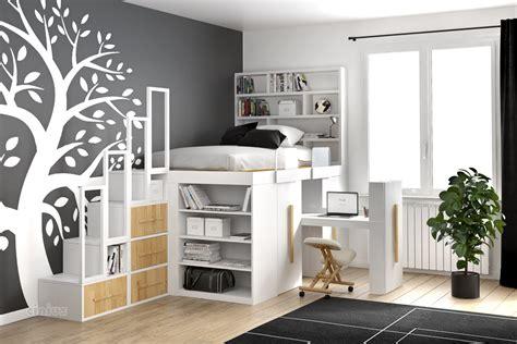 armadio a letto letto impero di cinius salvaspazio per la cameretta