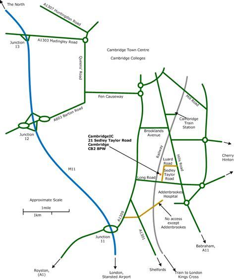 bureau location office map
