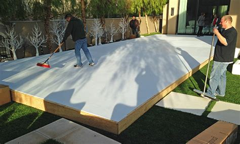 backyard rink thickness triyae backyard rink thickness various design