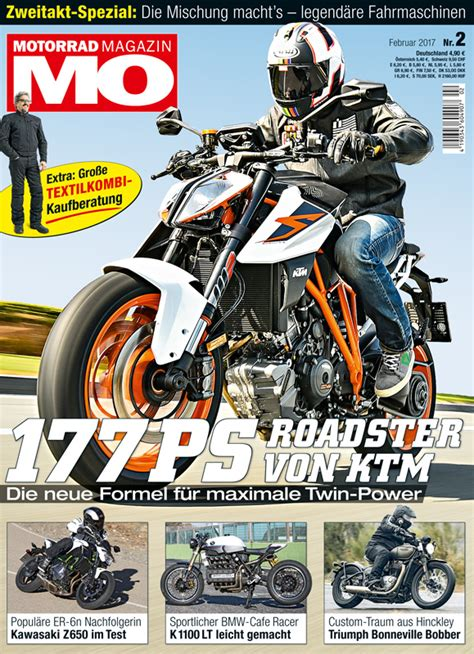 Mo Motorrad Magazin De by Motorrad Magazin Mo 2 2017 Motorrad Magazin Mo