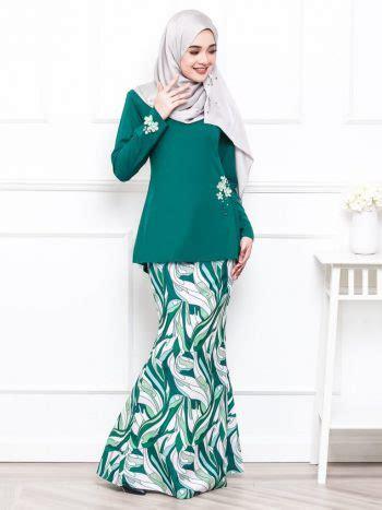 Bedak Wardah Yg Warna Hijau baju kurung moden bermanik yg gorgeous
