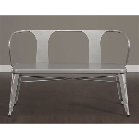 Tabouret Bench by Tabouret Metal Bench With Back Overstock Shopping