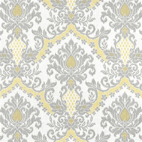 grey and yellow curtain fabric grey yellow window curtains modern ikat by asmushomeinteriors